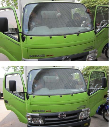 Ganti Kaca Mobil Hino | JualKacaMobil.com