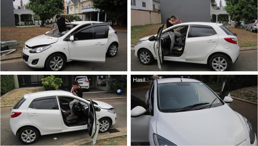 Ganti Kaca Mobil Mazda 2 | JualKacaMobil.com